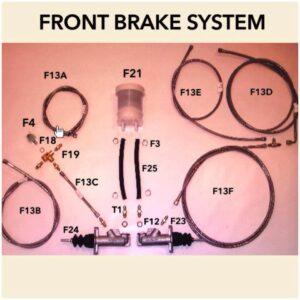 Brake Pipe Aeroquip – Front Left