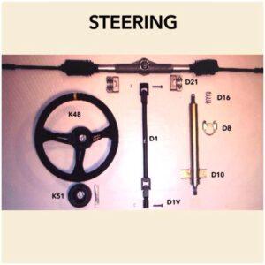 Rack and Pinion Bearing (per pair)
