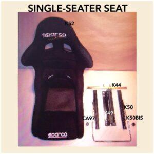 Bucket Seat Black