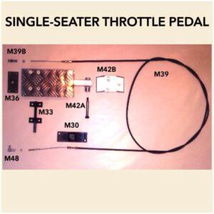 Throttle Pedal Floor Bracket